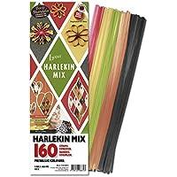 Karen Marie Klip: Quilling Papierstreifen Mix Harlekin, 5x450mm 160 Streifen