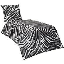 suchergebnis auf f r baumwoll bettw sche zebra. Black Bedroom Furniture Sets. Home Design Ideas
