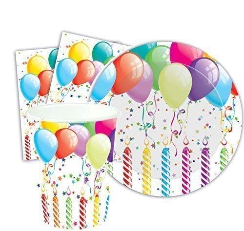 eburtstagsparty Tisch Tragen Luftballons Kerzen Geschlecht Bekanntgeben Baby Dusche Teller Becher Servietten Kostüm Zubehör Prop Dekorationen ()