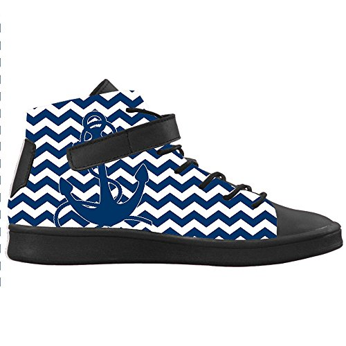Dalliy Blue ocean Anchor Women's canvas Footwear Sneakers Shoes Chaussures de toile Baskets A