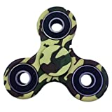 EDC Fidget Spinner Stainless Steel Bearing,2 To 4 Min Spin Times,Ultra Durable Toy Gifts for Kids&Adults (Green Camouflage)