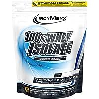 Ironmaxx Unisex 100% Whey Isolate Powder, Multicoloured, 2000 g