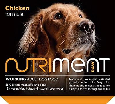 Nutriment Raw Natural Adult Chicken Formula Dog Food