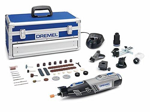 DREMEL 8220 5/65 - Multiherramienta inalámbrica (12 V, 1.5 Ah, 65 accesorios,...