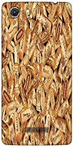 Snoogg Multiple Corks Designer Protective Back Case Cover For MICROMAX UNITE 3