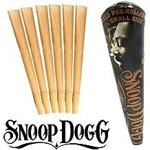 Snoop Dogg Tamaño 1–1/4sin blanquear conos pre-enrollados 1x 6(producto nuevo de Snoop Dogg)–1Pack by Trendz