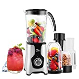 Uten Multi-Functional Smoothie Maker and Mixer for Juicers Fruit Vegetable 220W Automatic Blender