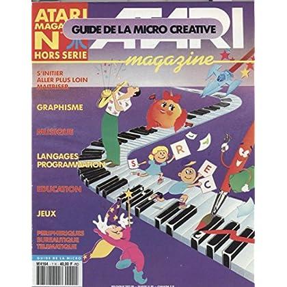 Atari Magazine Hors serie N°1 : Graphisme Musique Languages programmation Education Jeux