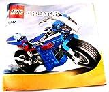 LEGO ® CREATOR - Beschreibung Bauanleitung - 6747 - Motorrad - Rennmaschien - LEGO