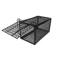 Rat Mouse Cage Trap Snap Trap- Set Cage Medium Size Black color