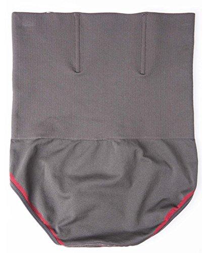 Herren Hohe Taille Figurformend Bauchweg Unterwäsche Funktions Unterhose Body Shaper Underwear Shapewear - Kompression im Bauchbereich M-2XL Rot