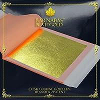 Vosarea Goldfolie 300 St/ück//3er-Set f/ür Slime Basteln Rahmen Gold, Silber, Ros/égold Dekoration von M/öbeln Vergoldung Kunst