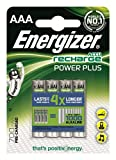Energizer Original Akku Power Plus Micro AAA (700mAh, 1,2 Volt, 4-er Pack)