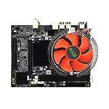 Kurphy X58 Desktop-PC-Motherboard LGA 1366 E5645 6core 12Threads CPU + 8G Speicher + Stummschaltung Lüfter Computer Hauptplatine DDR3-RAM