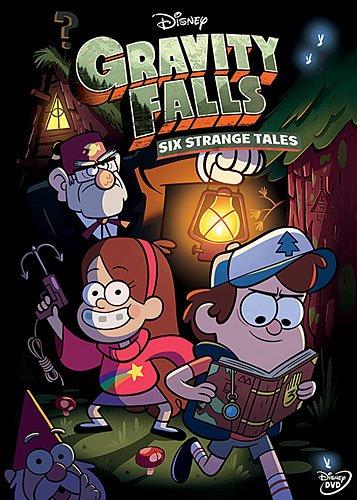 Gravity Falls: Six Strange Tales (W/Book) / (Ws) [DVD] [Region 1] [NTSC] [US Import]