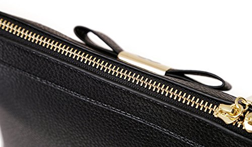 Pacchetto di moda, zaino obliquo della spalla, versione coreana della semplice ondata di borse selvatiche, mini gusci ( Colore : Rosso ) Nero