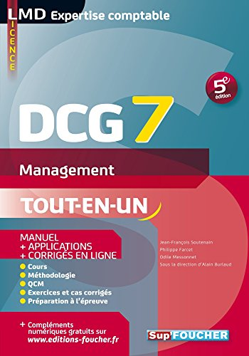 DCG 7 - Management Manuel et applications 5e édition