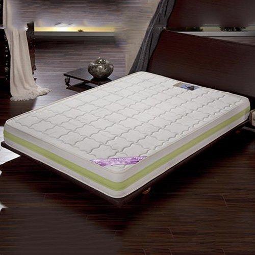 New Confort Visco Aloe Vera 3D 150/170 (King), Blanco Cama 150 (150 x 190 x 21 cm)