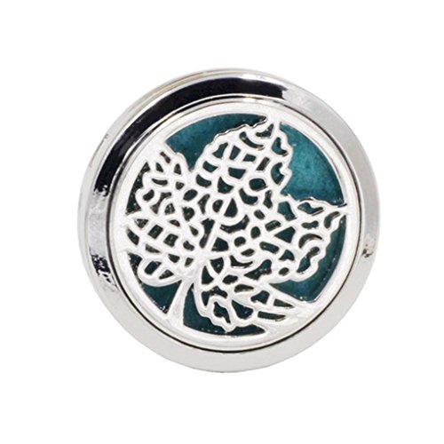 busirde Stainless Car Air Vent Freshener Essential Oil Diffuser Clip Aromatherapy Purifier for Car-Styling Decoratio