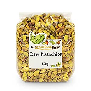 Buy Whole Foods Pistachio Nuts Raw 500 g