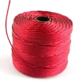 Used, Beadsmith S-Lon (0.5mm) Beading Cord 77 Yards Dark for sale  Delivered anywhere in Ireland