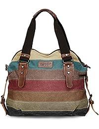 KIPTOP- Bolso de hombro para mujer, multicolor