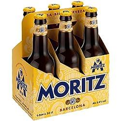 Moritz Cerveza - Paquete de 6 x 330 ml