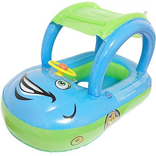 FuXing Schwimmring für Baby Kinder Schwimmen Auto Sitz Aufblasbarer Ring im Pool Schwimmen RingFür Kinders