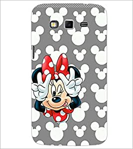 PrintDhaba Minnie Mouse D-2327 Back Case Cover for SAMSUNG GALAXY GRAND 2 (Multi-Coloured)