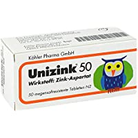 Unizink 50 50 stk preisvergleich bei billige-tabletten.eu