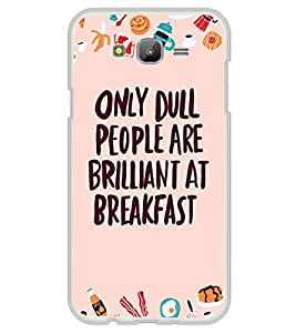 PrintVisa Great Thoughts High Gloss Designer Back Case Cover for Samsung Galaxy J7 J700F (2015) :: Samsung Galaxy J7 Duos :: Samsung Galaxy J7 J700M J700H