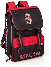 18b4538ceb Zaino Scuola Estensibile Ac Milan scolastica tifosi calcio *24100
