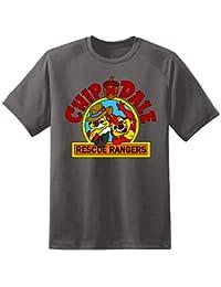Mens Chip N Dales Rescue Rangers T Shirt Retro Vintage TV Kids Disney