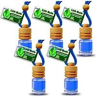 5flaconi Deodoranti elegante per auto auto profumo deodorante–menta piperita 25ml–39,60Euro/100ml