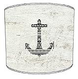 20,3cm Deckenleuchte Vintage Sailing Nautical Maritime Print Lampenschirm 11, 30,5 cm