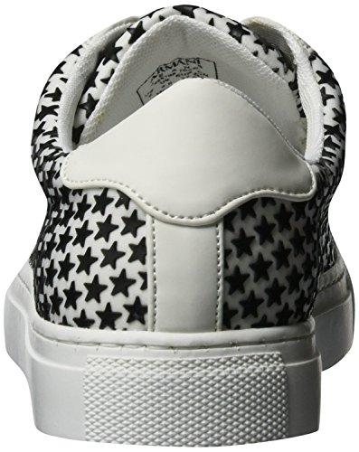 Armani Jeans 9251987p587, Sneakers basses femme Mehrfarbig (bianco/nero)