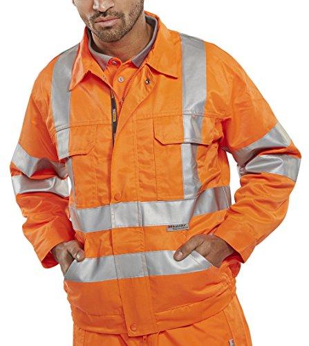 B Seen  Herren Arbeitsjacke Orange
