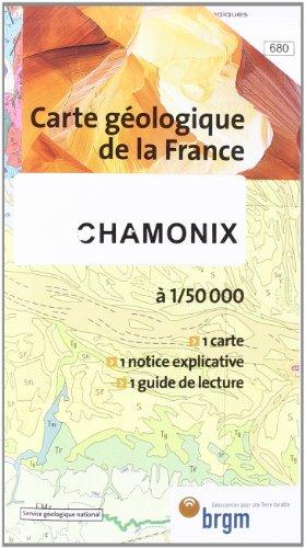 Carte géologique : Chamonix