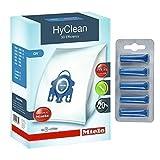 Miele Sacchetti per aspirapolvere originali GN HyClean 3D Efficiency, per aspirapolvere Miele + deodoranti inclusi