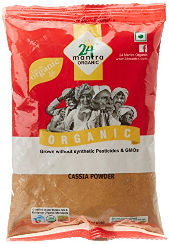 24 Mantra Organic Cassia Powder, 100g  available at amazon for Rs.75