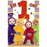 Teletubbies Age 1 Birthday Card