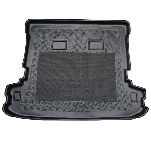 ZentimeX Z902738 Vasca baule su misura con superficie scanalata e integrato tappeto antiscivolo
