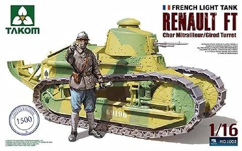 Char Renault - Takom 1:16 - Renault FT-17 Char MG