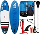 Fanatic Fly Air inflatable 10.4 SUP Stand up Paddle Board Komplett Set