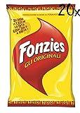 20x Fonzies Maissnack mit Käse 100g Käsechips chips mit mais italien snack