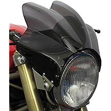 Carenabris Puig Wave Honda VTR 250 97-12 ahumado oscuro