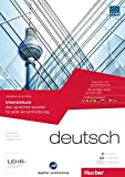 interaktive sprachreise intensivkurs deutsch: das sprachlernsystem für jede lernanforderung / Paket: 1 DVD-ROM + 2 Audio-CDs + 2 Textbücher (Interaktive Sprachreise digital publishing)