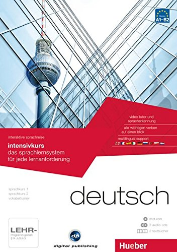 interaktive sprachreise intensivkurs deutsch: das sprachlernsystem für jede lernanforderung / Paket: 1 DVD-ROM + 2 Audio-CDs + 2 Textbücher (Interaktive Sprachreise digital publishing)