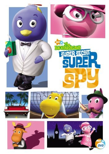 The Backyardigans - Super Secret Super Spy - Backyardigans Dvd
