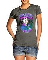 Women Quality Cotton Funky Design Benjamin Franklin Rapper T-Shirt